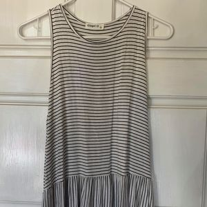 Ginger G Womens Striped Top